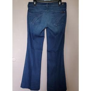 7FAM DOJO Flare Jean size 28